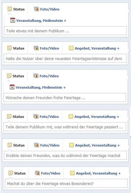 Facebook testet mal wieder und gibt wertvolle Tips zu relevanten Page Posts … NICHT!