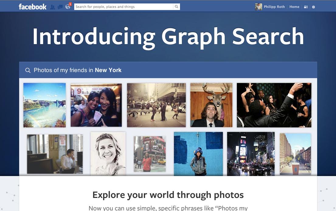 Facebook Graph Search – Die neue Facebook Suche im Social Graph