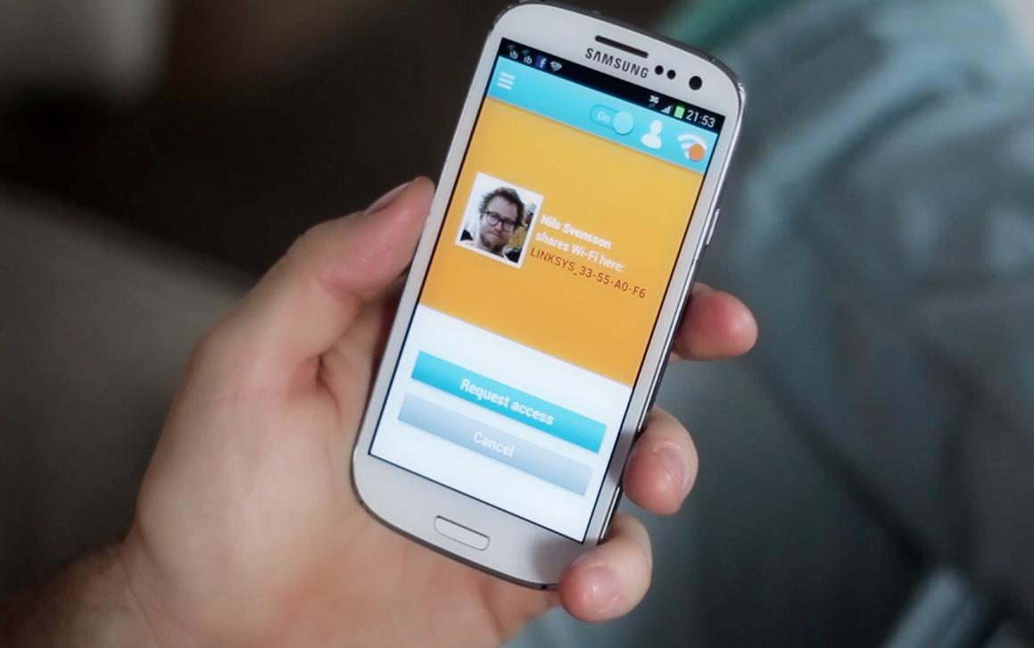 Coole App Idee: Instabridge erlaubt das einfache Teilen von WLAN Netzwerken mit Facebook Freunden
