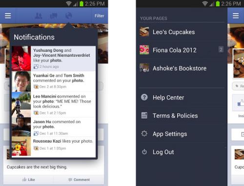 Facebook Pages Manager – jetzt auf für Android Smartphones