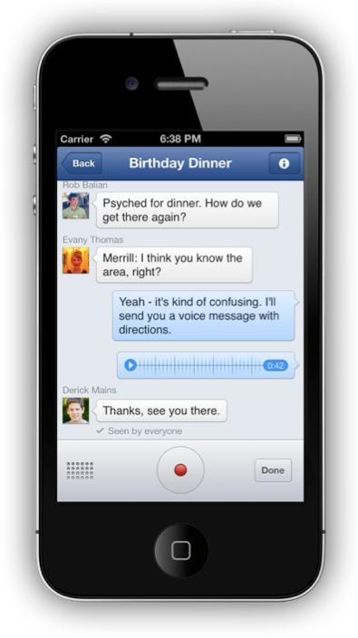 Neue Features: Telefonieren und Sprachnachrichten über den Facebook Messenger