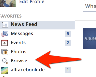 """Browse"": Facebook launcht neues Feature für Graph Search Nutzer"