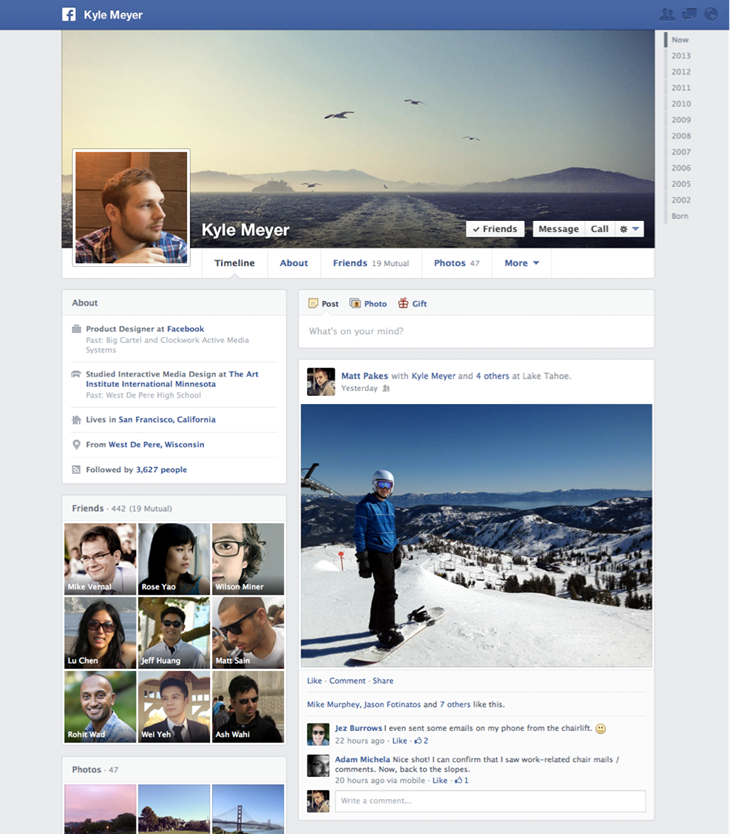 Jetzt offiziell: Die neue Facebook Timeline von Facebook bestätigt!
