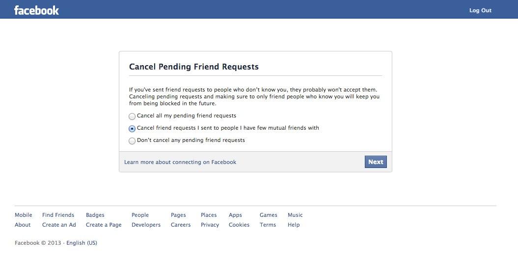 Facebook testet neue Vorwarnung bevor Accounts gesperrt werden