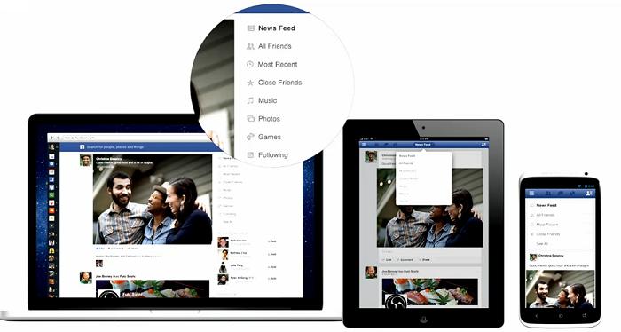 Der neue Facebook Newsfeed: visueller, feediger und überall gleich!