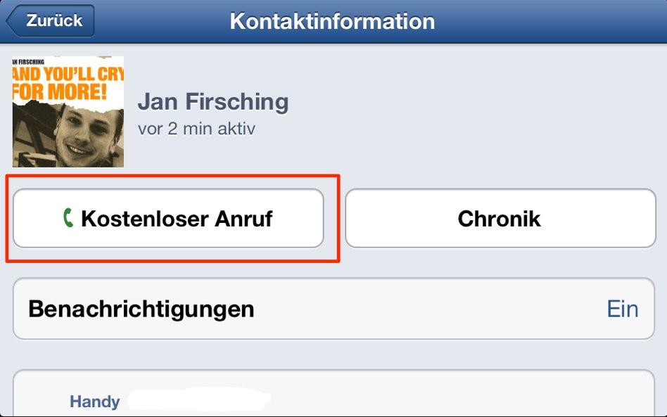 Kostenlos Telefonieren über Facebook: Test mit Messenger App auch in Deutschland gestartet!