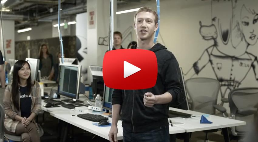 Facebook Home Werbeclips: Sogar Mark Zuckerberg spielt mit!