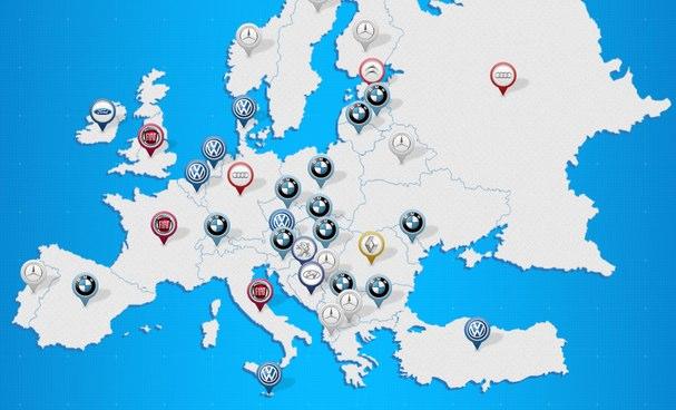 Die beliebtesten Automarken auf Facebook (Infografik)