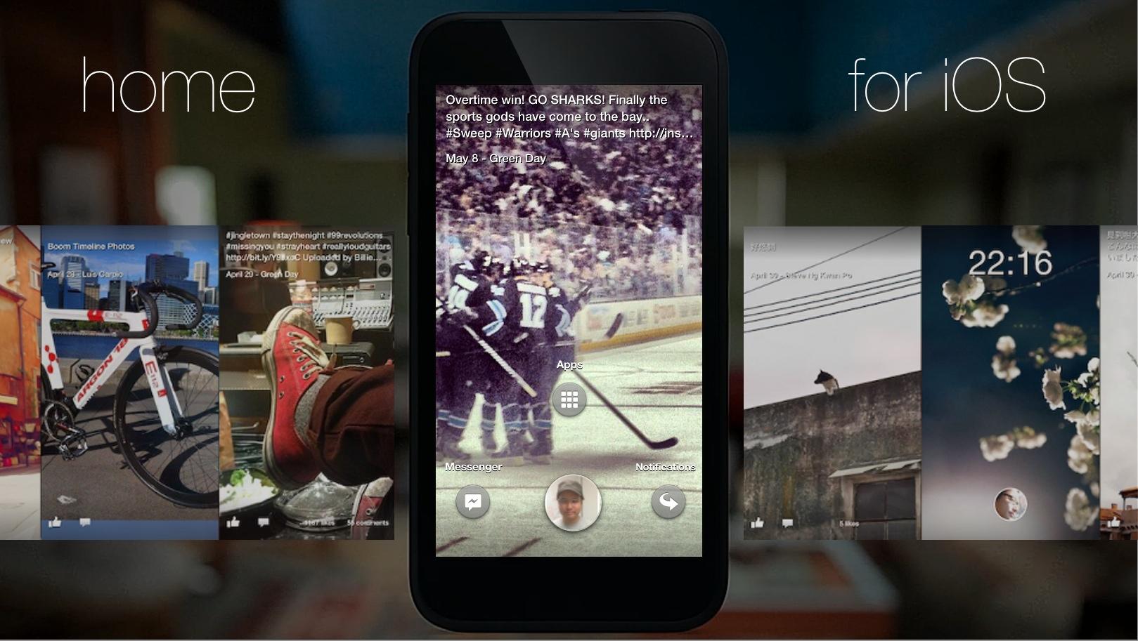 Eigenentwicklung: Facebook Home für iOS (Video)