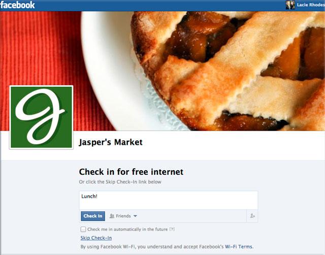 Facebook Wi-Fi – Kostenloses WLAN für Kunden über den Facebook Login