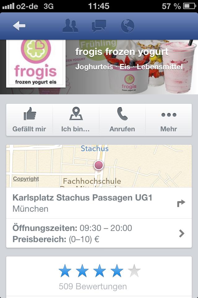 Noch mehr Relevanz für die Bewertungen auf Facebook: Neue Integration in die Desktop Version.
