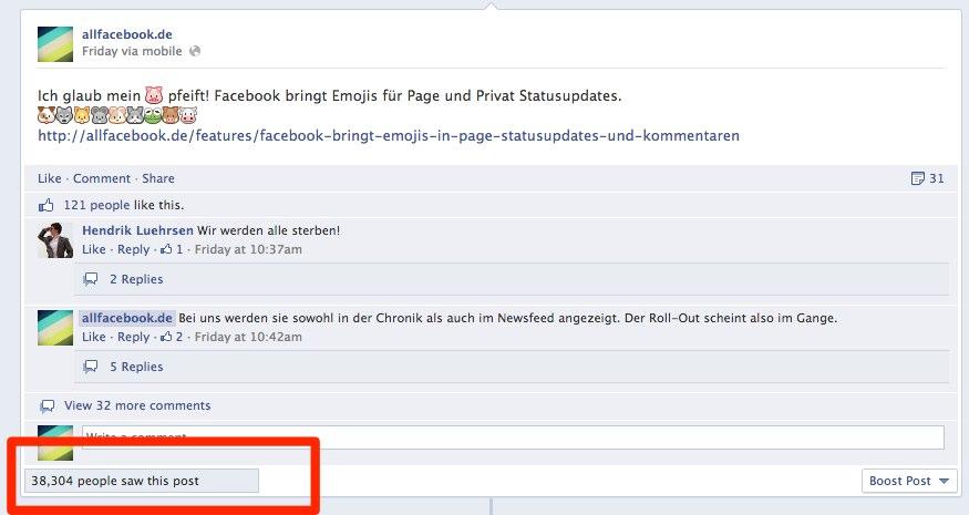 Eliminiert Facebook jetzt die Viralität als KPI?