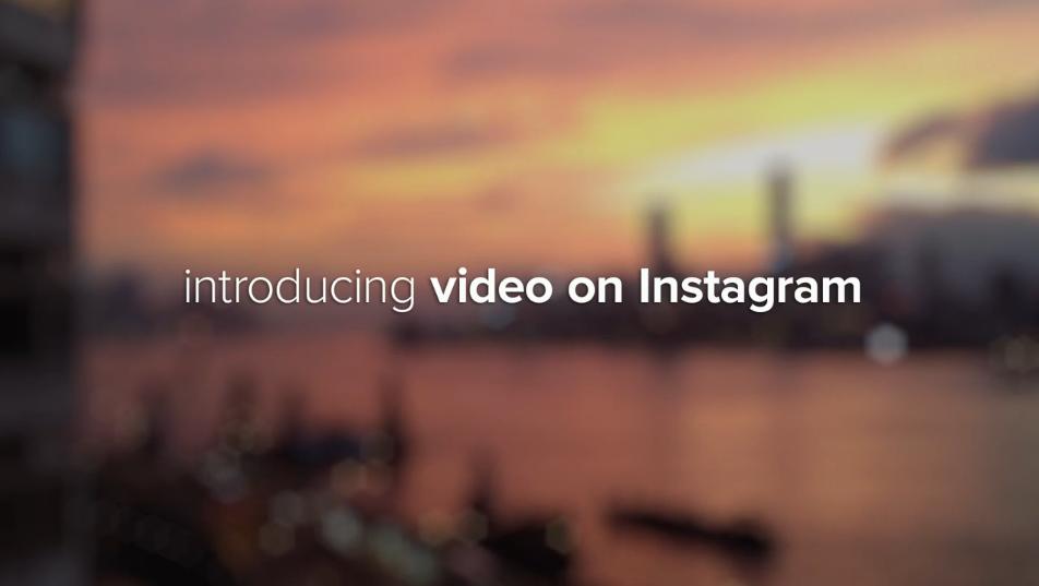 Instagram kann jetzt auch Videos!