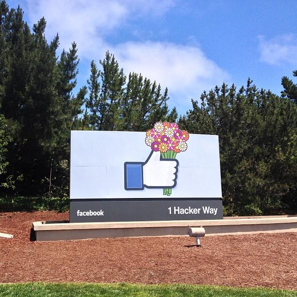 Einblicke in den Facebook-Kosmos: Instagram Bilder aus dem Facebook HQ!