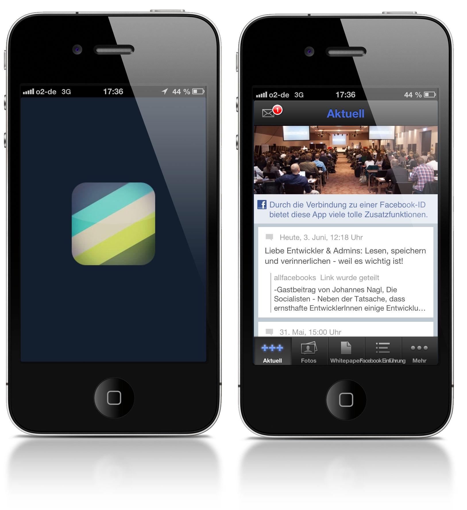 Jetzt testen: AllFacebook.de Mobile App – So wird aus der Facebook Page eine mobile App