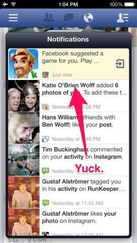 Facebook testet neues Anzeigenformat – direkt in den Benachrichtigungen.