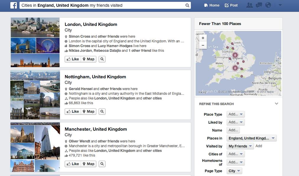 Die neue Graph Search sinnvoll nutzen: Ein paar Beispiele für die Urlaubsplanung
