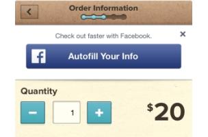 """Facebook vereinfacht mobile Bezahlprozesse mit """"AutoFill""""-Button"""