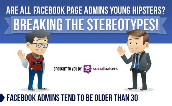 Sind alle Facebook Page Administratoren Hipster? (Infografik)
