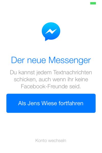 Der neue Messenger für iOS: Ein Rundgang