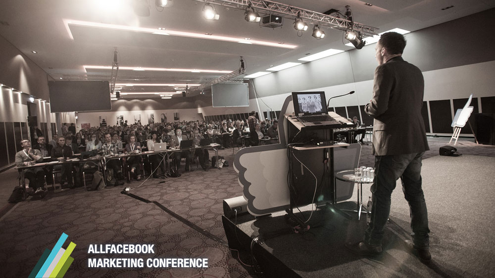 Nur noch zwei Wochen: Frühbucherpreise für die AllFacebook Marketing Conference in München