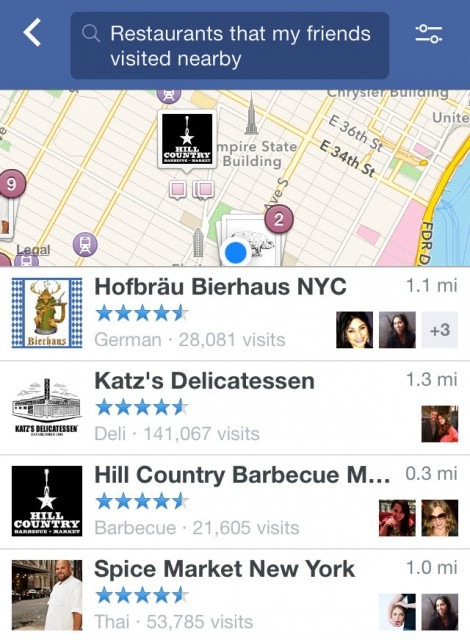 Graph-Search-restaurants