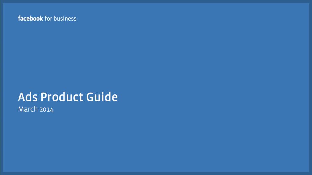PDF Download: Überblick über die verschiedenen Facebook-Werbeformate