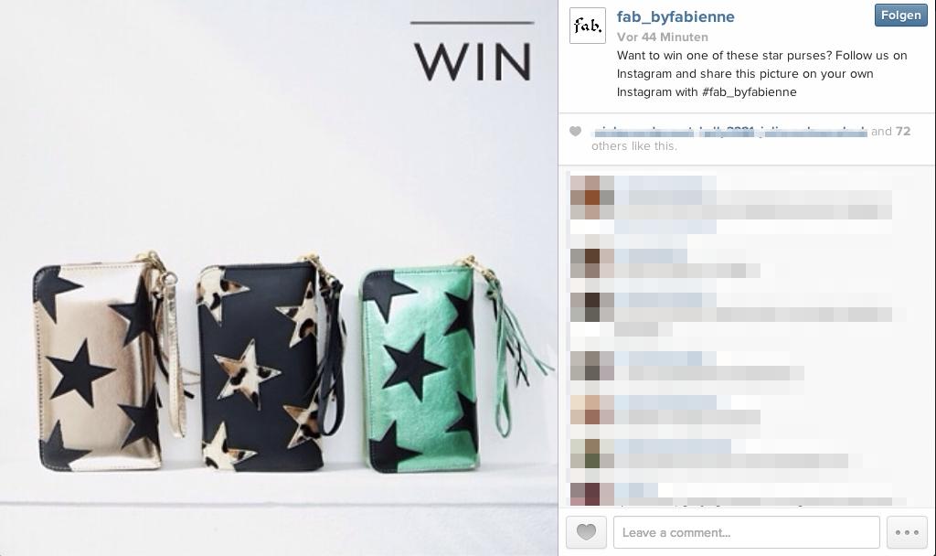 Instagram Foto Contest – Konzepte und Problemstellungen