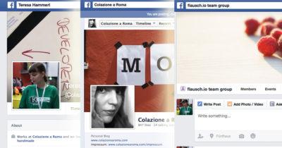 Facebook für Anfänger: Profil, Seite oder Gruppe: Was ist der Unterschied?