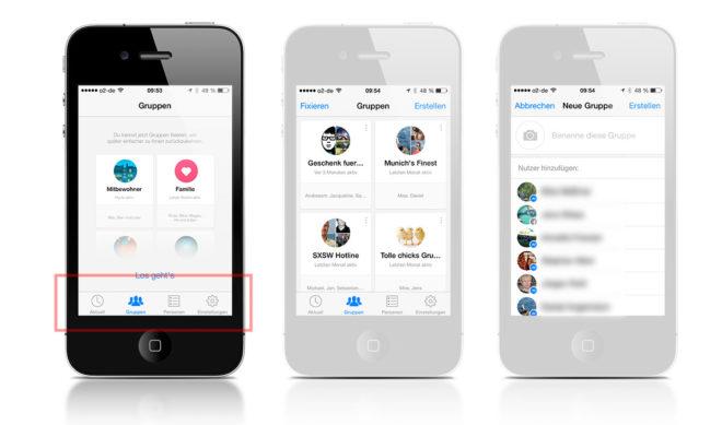 Facebook Gruppennachrichten im Messenger erstellen