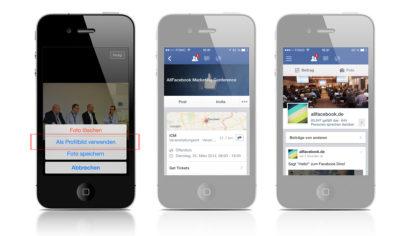 Facebook-Seitenmanager in Version 3.0 mit neuen Funktionen