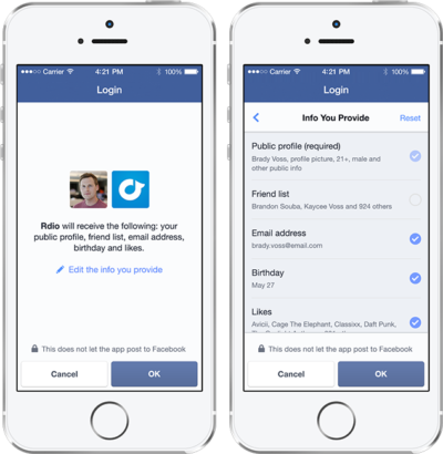Video Workshop: Der neue Facebook Log-in