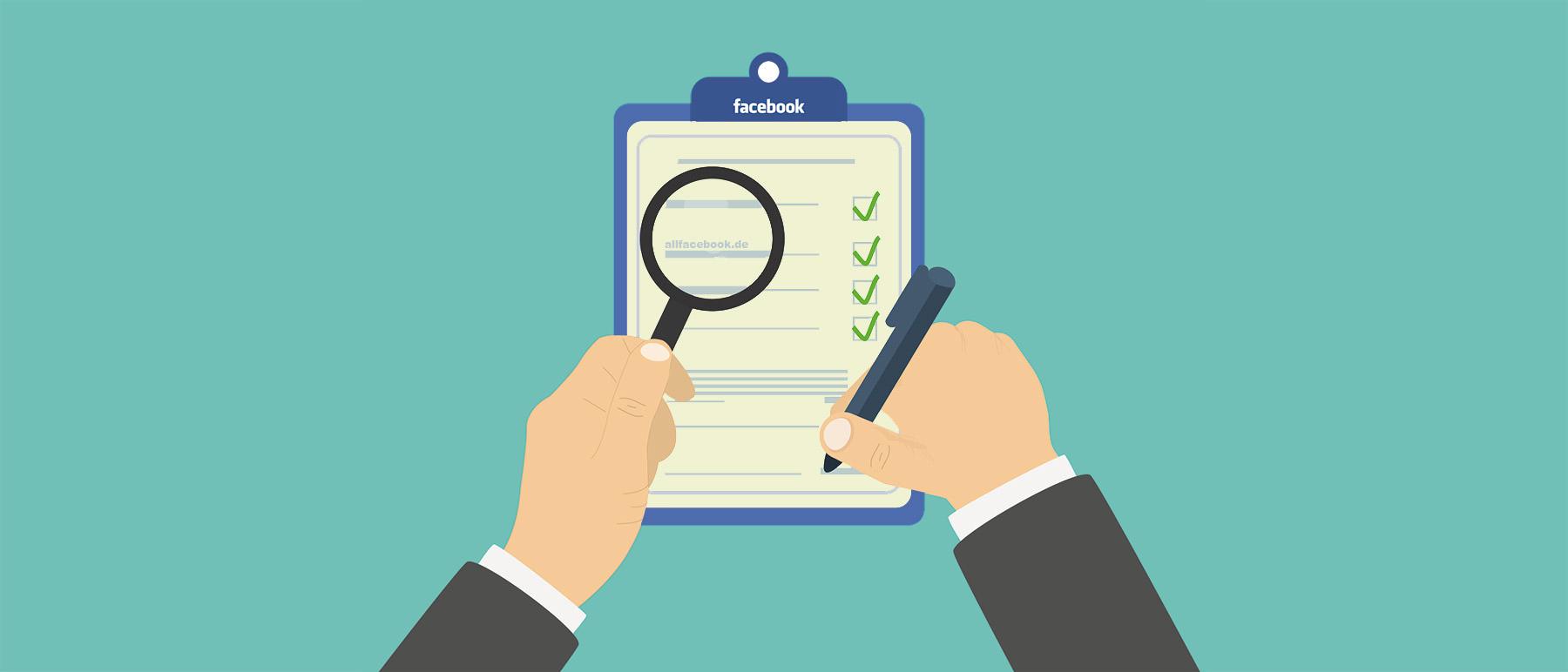 Facebook-Pages-Checkliste