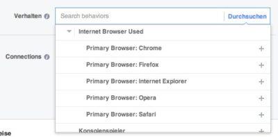 Browser und Betriebssystem als neue Targetingoptionen für Facebook-Werbung