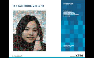 Nostalgie: Mit diesem Pitchdeck ging Facebook 2004 auf Werbekunden zu