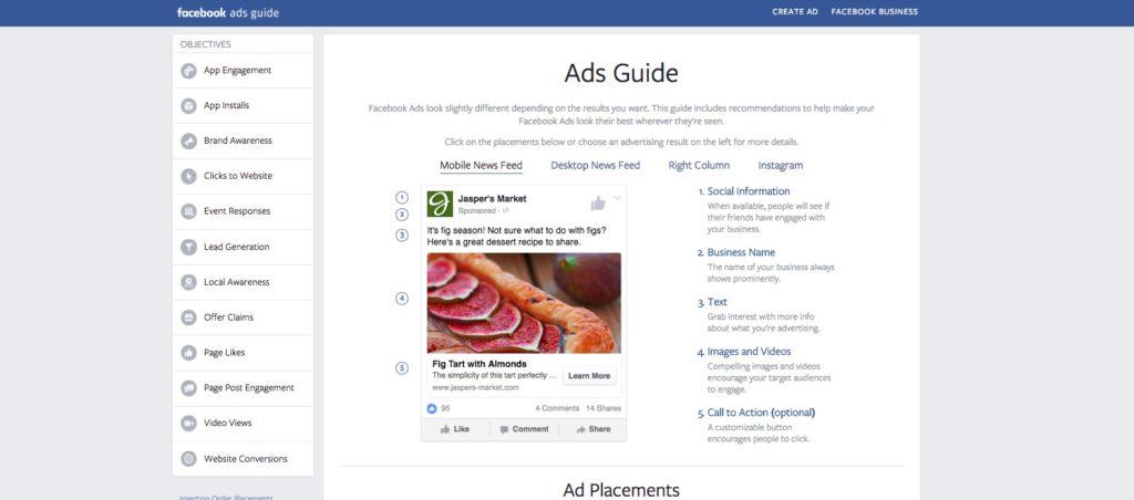 Warum der Facebook 'Ads Guide' von Facebook die kleine 'Bibel' für jeden Community Manager werden sollte
