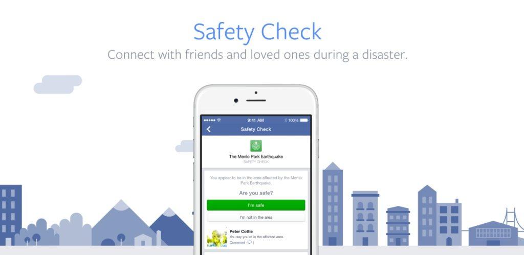 """Der """"Facebook Safety Check"""" – schnelle Sicherheit bei Katastrophen und Krisen"""