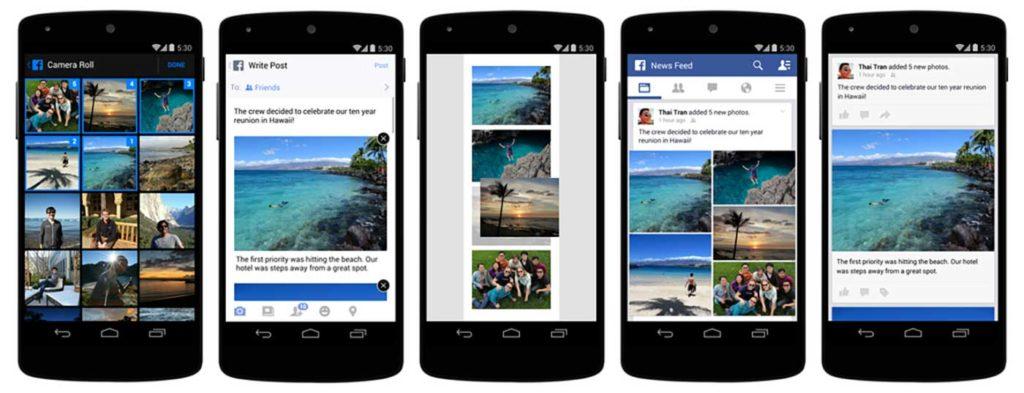 Schöneres Storytelling: Kleines Update für den Fotoupload in den mobilen Apps