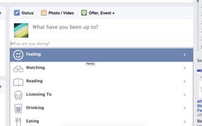 Eure Facebook-Seite hat jetzt Gefühle