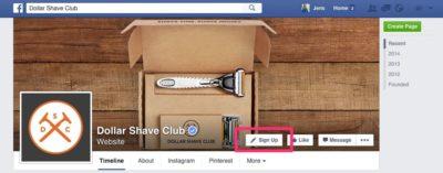 """Facebook führt """"Call-to-Action"""" Buttons für Facebook-Seiten ein"""