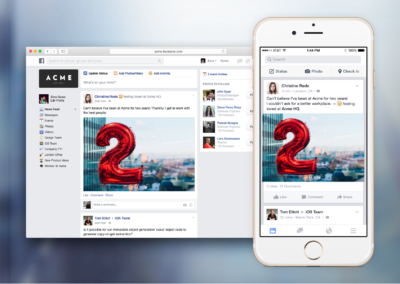 Facebook at Work: Testphase beginnt ab heute!