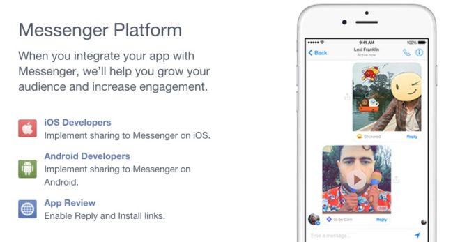 Entwickeln für den Facebook Messenger