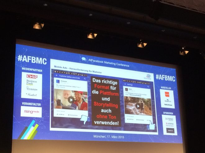 Allfacebook Marketing conference Ads Format Thomas Hutter