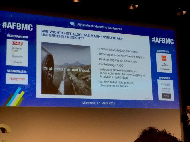 Allfacebook Marketing Conference Take Aways BMW