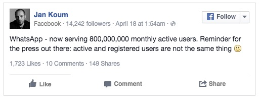 Jan Koun auf Facebook
