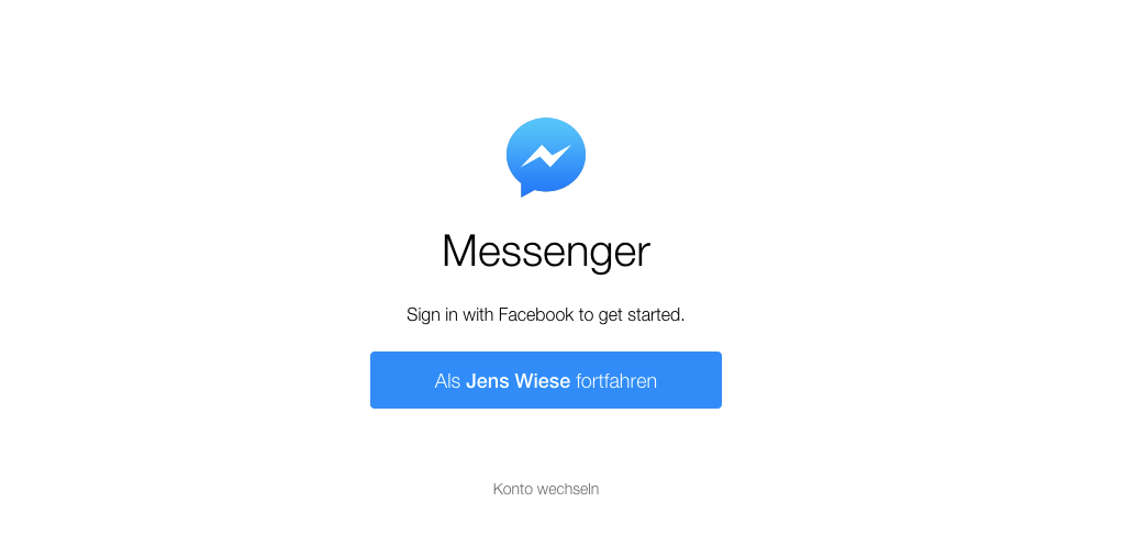 Facebook launcht den Messenger als eigene Version für den Web Browser