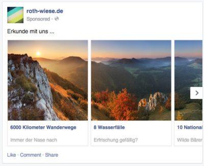 Hack: So kannst du Facebook Carousel Ads als normalen Post veröffentlichen