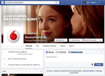 """Klare Supportanfragen auf Facebook dank neuem """"Stelle eine Frage""""-Feature auf Facebook-Seiten?"""