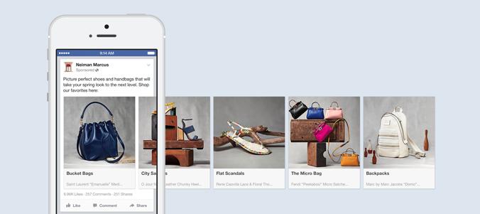 """Multi-Product-Ads heißen jetzt """"Carousel Ads"""" und sind auch für Mobile App Ads verfügbar"""