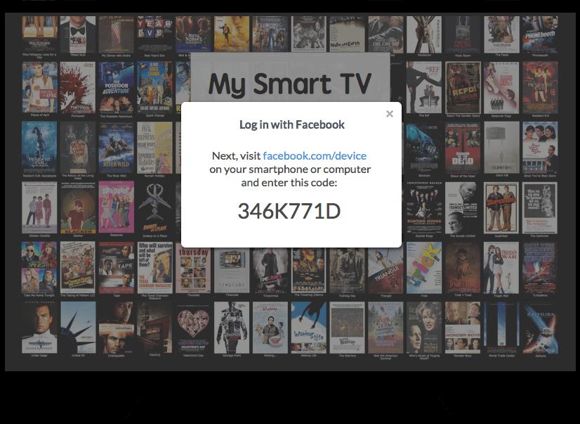 Facebook öffnet Schnittstelle für SmartTV, Internet of Things und andere Endgeräte ohne Browser und Eingabemöglichkeit
